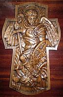 Икона панно резное Архангел Михаил №9, фото 1