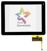 Сенсорный экран для планшета  Newsmy NewPad S97  (236*183), черный (p/n: DPT300-L3456B-A00_VER1.0)