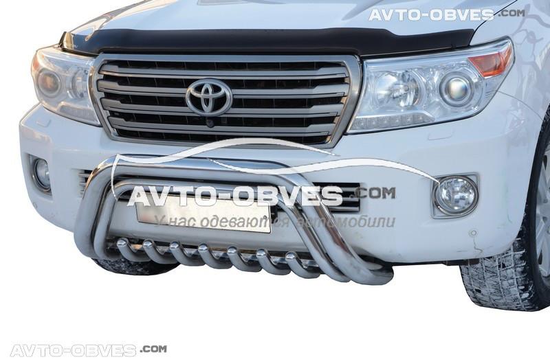 Кенгурятник низький для Toyota Land Cruiser 200 2008-2016 (l. Schiessler) під замовлення 10-15 днів