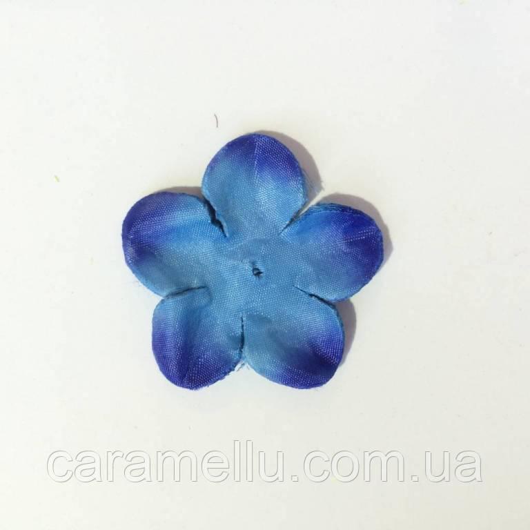 Заготовка для розы. Цвет синий.  80 штук