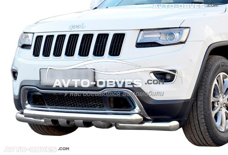 Захист нижнього бампера штатний для Jeep Grand Cherokee 2014-2019