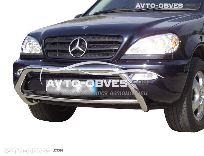 Кенгурятник без гриля Mercedes ML163 (Тамсан)