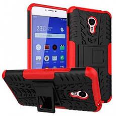Чехол Meizu M3 Note Противоударный Бампер красный