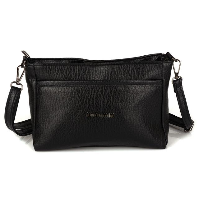 женская сумка черная маленькая