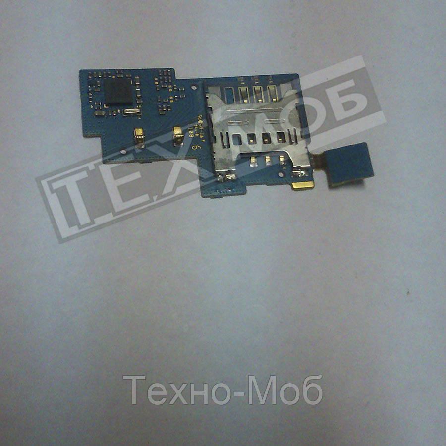 Плата с коннектором SIM для телефона Samsung Nexus S GT-i9020T