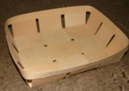 Эко упаковка корзинки, плетёные формы из дерева (шпона) форма с размерами 205*120*50мм