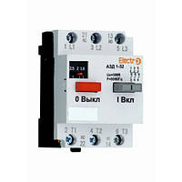 Автоматичний викл. захисту двигуна АЗД 1-32 3Р 2,5 А-4А 380В Electro