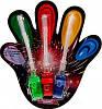 Подсветка пальцев Laser Finger 4