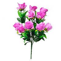 """Искусственные цветы """"Роза"""", декоративный искусственный букет , разные цвета"""