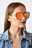 Солнцезащитные  очки с зеркальным покрытием