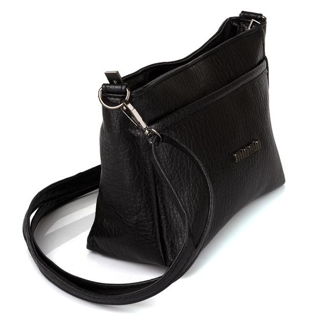 женская сумочка на плечо черная