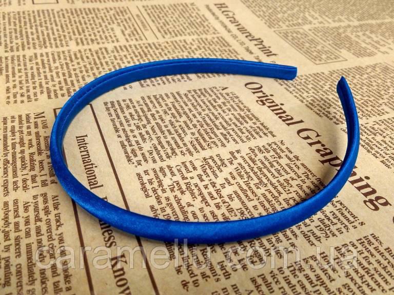 Основа для обруча. Синяя 1 см. Пластик