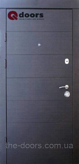 Дверь входная Qdoors модель Горизонталь премиум