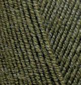 Нитки Alize Extra 214 Масло зеленое