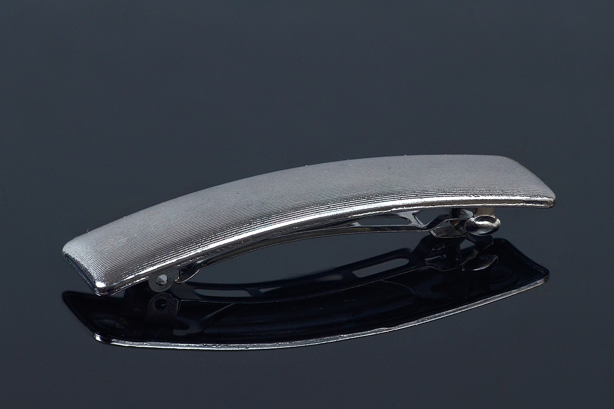 Качественная заколка-автомат металл