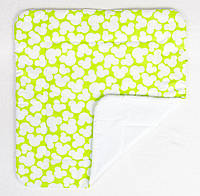 Детское хлопковое одеяло BabySoon Микки салатовый 80 х 85 см (273)