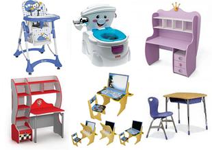 Столы, парты, стульчики, горшки
