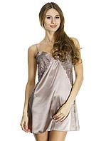 Шелковая ночная рубашка женская, фото 1