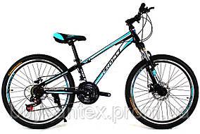 Cross Racer 24 Black-Blue-White