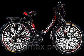 Titan Elite 26 Black-Red-White