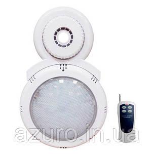 Прожектор навесной светодиодный LED с пультом для каркасного бассейна , фото 2