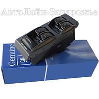 Блок кнопок стеклоподъемников Genuine GM оригинальные Lanos, Sens на 4 стекла под ручник + кнопка блокирования