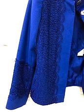 Пиджак женский Италия фирма Monica Ricci кашемир с кружевом, фото 3