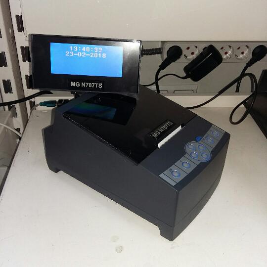 Фіскальний принтер MG-N707TS