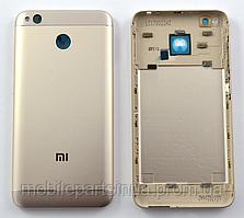 Задняя золотая крышка для Xiaomi Redmi 4X