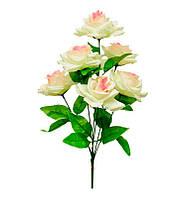 """Искусственные цветы """"Роза"""", декоративный искусственный букеты, разные цвета"""