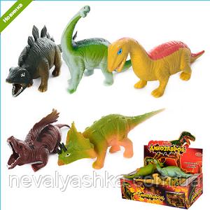 Резиновые животные Динозавры Динозавр мягкий антистресс, 7209 7210 ,003685 000018
