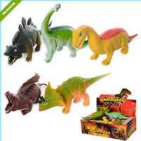 Резиновые животные Динозавры Динозавр мягкий антистресс, 7209 7210 ,003685 000018, фото 1