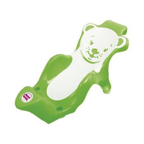 """Горка для купания малышей """"Buddy Ok Baby"""", салатовая, фото 2"""