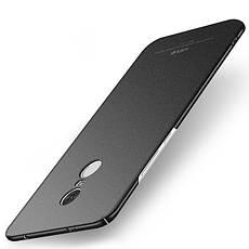 Чехол MSVII для Xiaomi Redmi Note 4X / Note 4 Global Version бампер оригинальный black sand