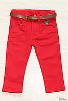 Штанишки ярко-красного цвета (68 см.) No name 2129000400110