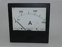 Амперметр Э365 600А  600/5А