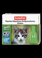 Beaphar Bio 3 пипетки-капли от блох, клещей и комаров для котят(15615), фото 2
