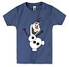 Детская футболка С ВЕСЁЛЫМ СНЕГОВИКОМ, фото 3