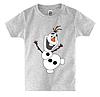 Детская футболка С ВЕСЁЛЫМ СНЕГОВИКОМ, фото 4