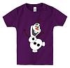 Детская футболка С ВЕСЁЛЫМ СНЕГОВИКОМ, фото 5