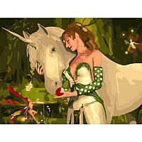 Картина по номерам Животные - Волшебный друг VD038
