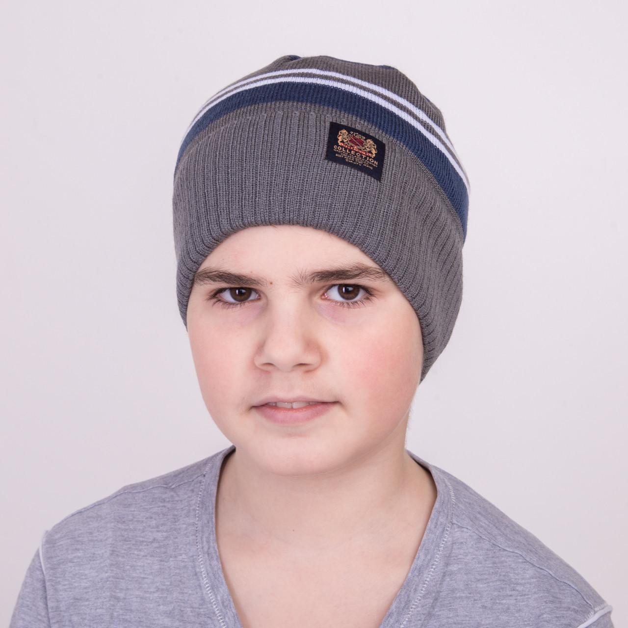 Весенняя шапка для мальчика от производителя - Collection - Арт 1191