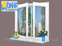 Двухстворчатое окно WDS 7 Series