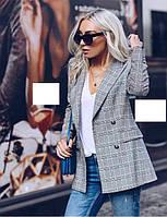 Женский пиджак свободного кроя