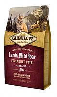 Корм Carnilove (Карнилав) Cat Lamb Wild Boar Sterilised для стерилизованных кошек с ягненком, 400 г