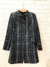 Женское пальто Miss Money с вставками натуральной кожи, фото 3