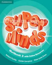 Super Minds 3 Workbook with Online Resources / Рабочая тетрадь