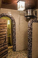 Ведро душ для бани  сауны IBAAT 1 в нержавейке (60 литров), фото 1