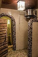Ведро душ для бани  сауны IBAAT 1 в нержавейке (60 литров)