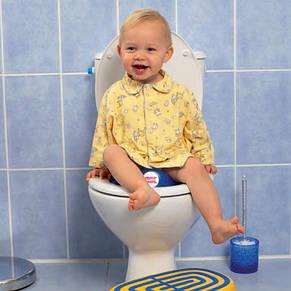 """Накладка-сиденье на унитаз """"Ergo Ok Baby"""", голубая, фото 2"""